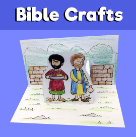 Cain and Abel Bible Craft