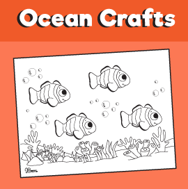 Clownfish Coloring Page