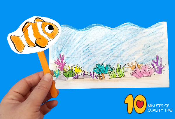 clownfish activity sheets