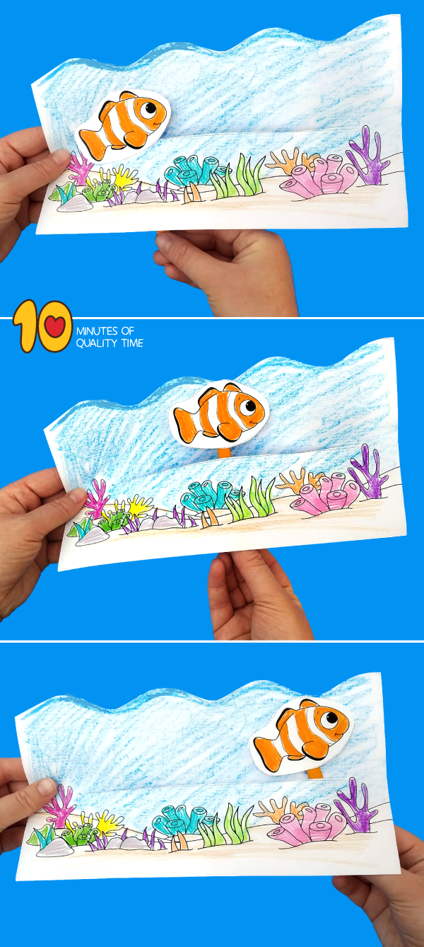 clown fish activities for preschoolers