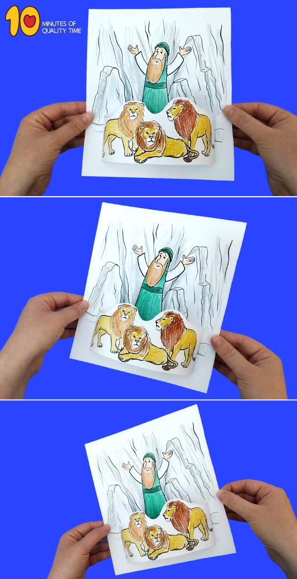 Daniel and the lion's den activities - Adventures in Mommydom