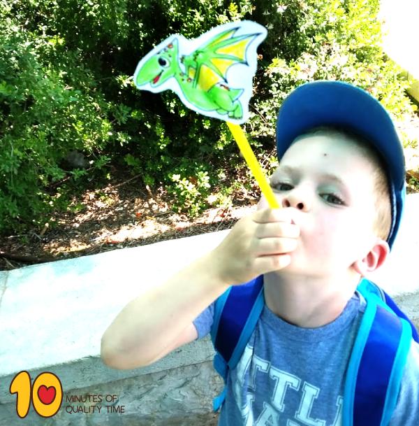 pterodactyl crafts for preschool