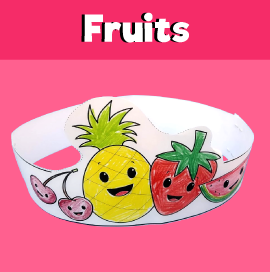 Fruit Paper Crown
