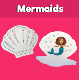 Mermaid and Seashell Craft