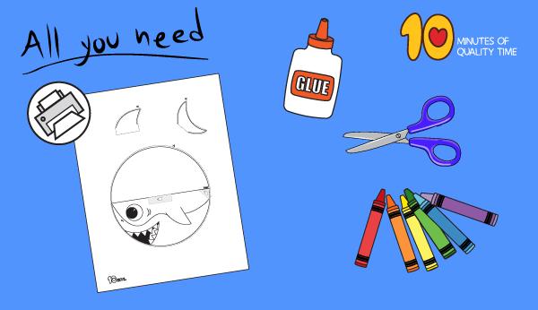 rocking paper shark