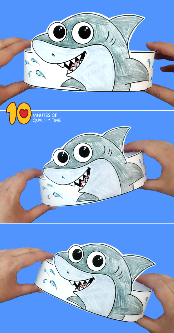 shark craft kindergarten