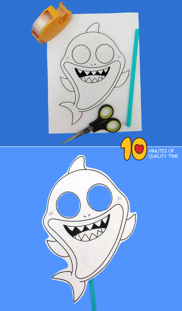 Shark Paper Mask 10 Minutes of