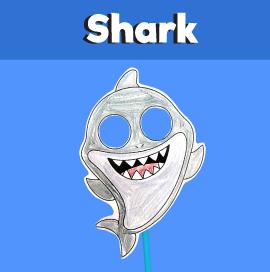 Shark Paper Mask