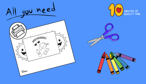 summer safety crafts for toddlers
