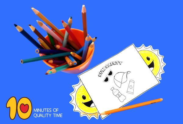 summer safety arts crafts preschool