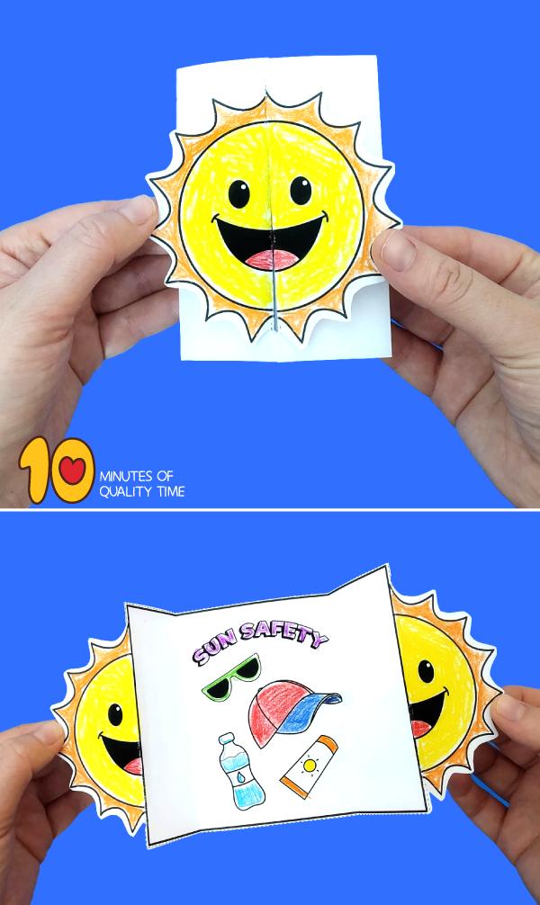 summer safety preschool activities