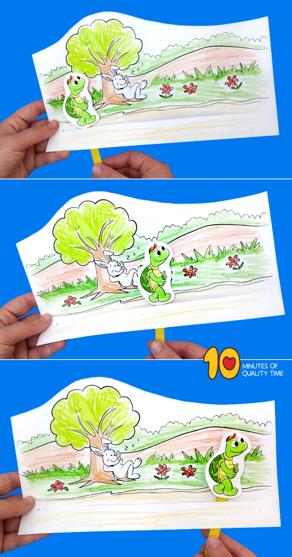 the tortoise and the hare activities for preschool