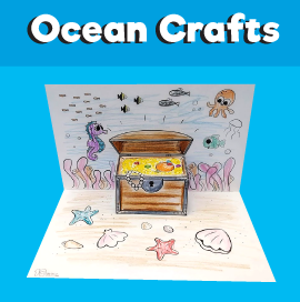 Underwater Treasure Chest Craft