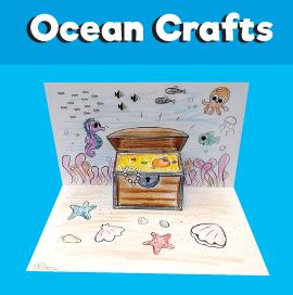 Underwater Treasure Chest Craft