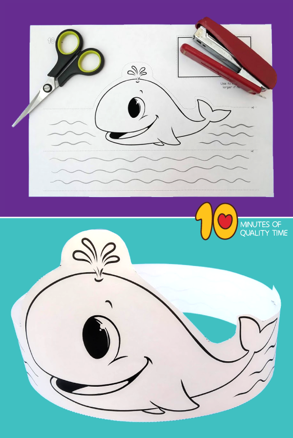 whale craft preschool