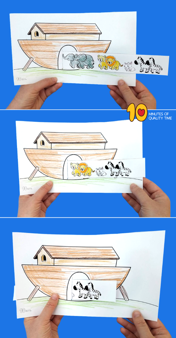 noah's ark craft kindergarten