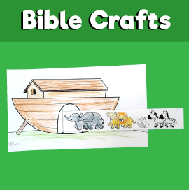 Noah's Ark Animals Two by Two Craft