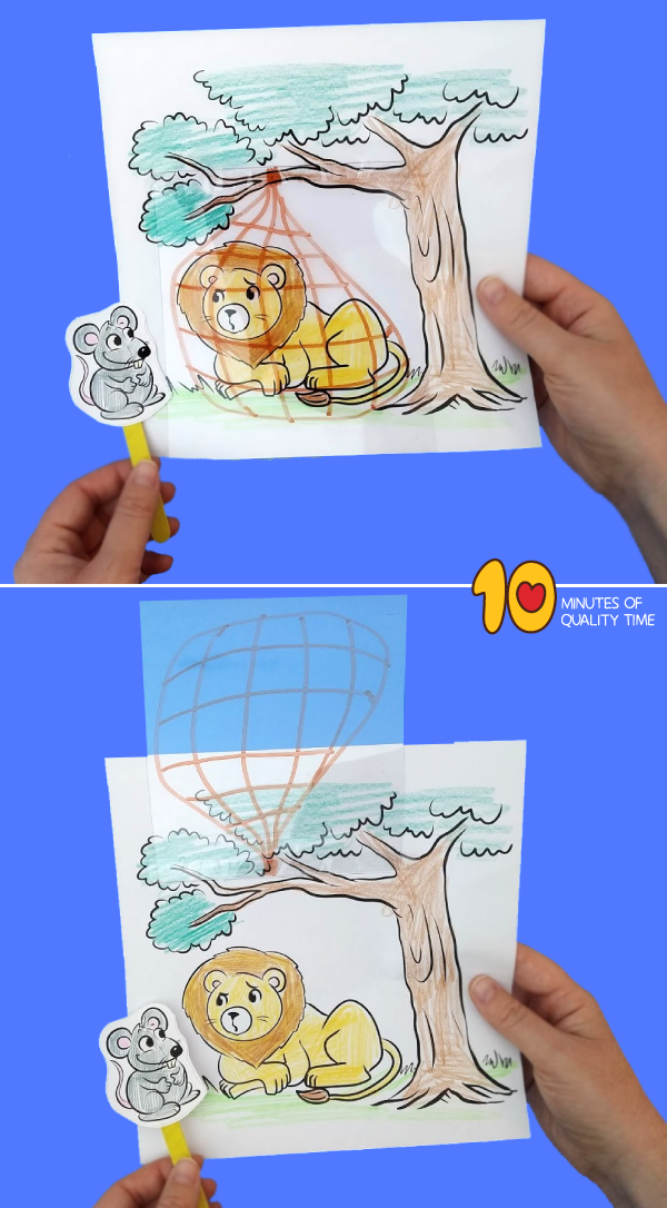 the lion and the mouse story activities