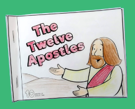 The Twelve Apostles Mini-Book