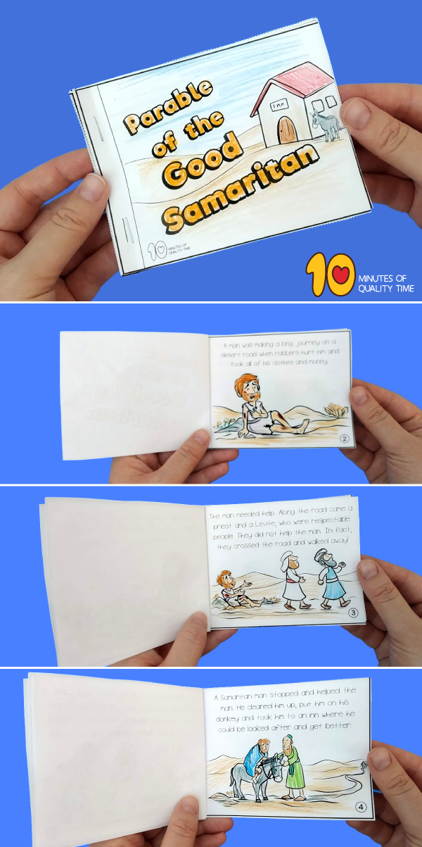 bible story booklets