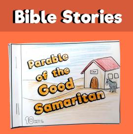 The parable of the Good Samaritan Mini Book