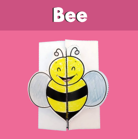 Bee and Honey Printable Card