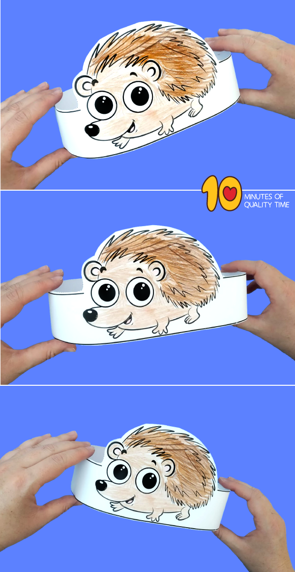 hedgehog craft for preschool