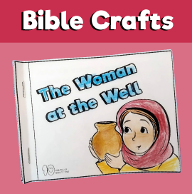 Samaritan Woman at the Well Mini Book