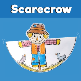 Scarecrow Rocking Craft