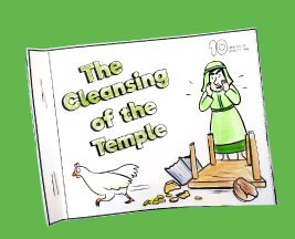 jesus cleanses the temple sunday school craft