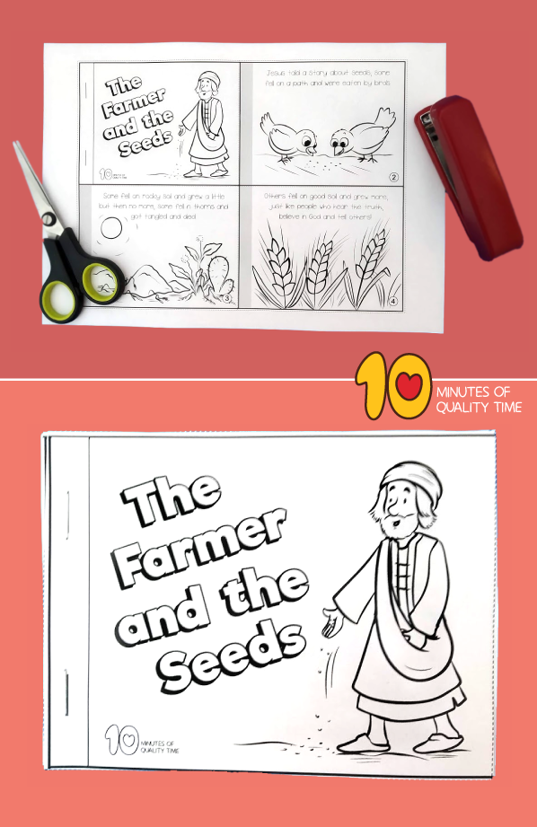bible story printables parable of the sower