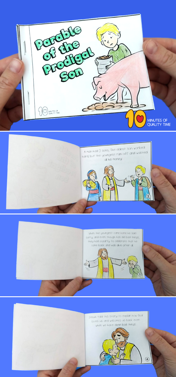 the prodigal son craft for preschool