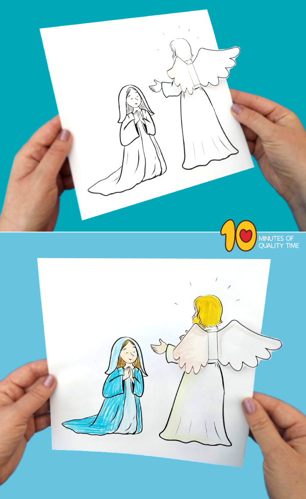 An Angel Visits Mary - Sunday School
