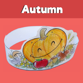 Printable Autumn Crown