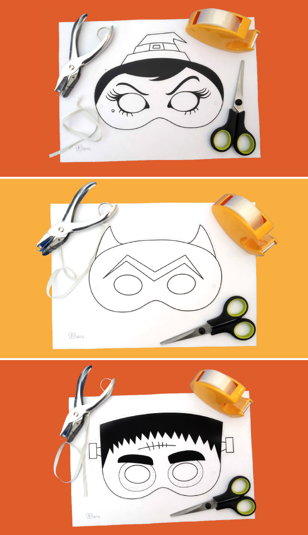 halloween craft masks