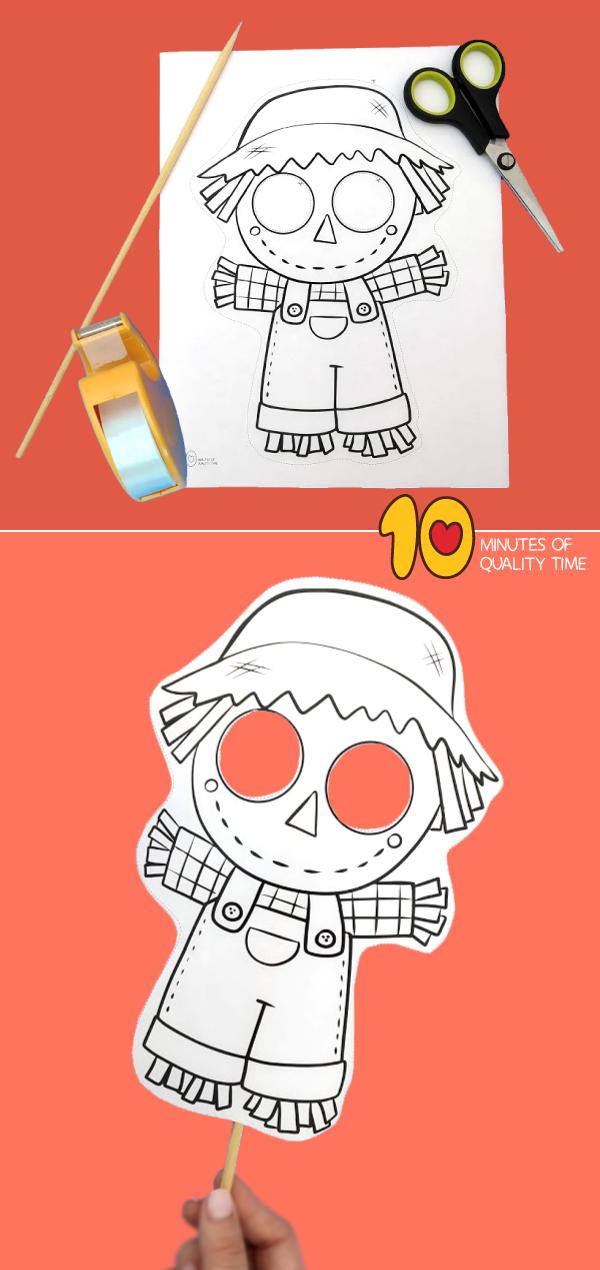scarecrow mask tutorial