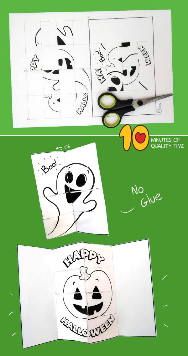 halloween card crafts