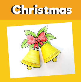 Christmas Bells 3D Craft