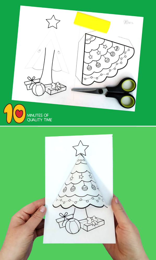 christmas tree activity for preschool