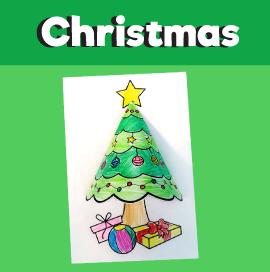 Christmas Tree 3D Craft