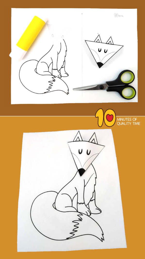 fox activities for preschoolers