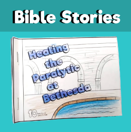 Healing the Paralytic at Bethesda mini book