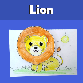 Lion Craft Template