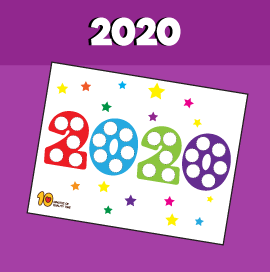 New Year's 2020 Do a Dot Activity