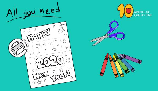 new year craft activities