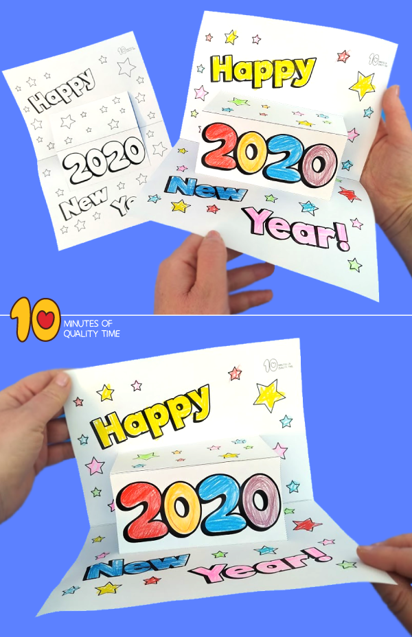 new year printable cards