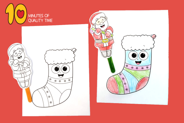 santa crafts to make for Christmas