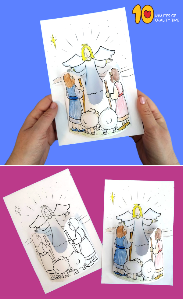 christmas nativity crafts for preschoolers