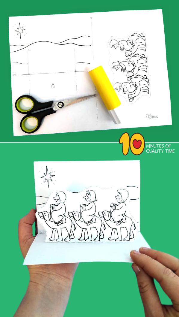 nativity crafts for preschool