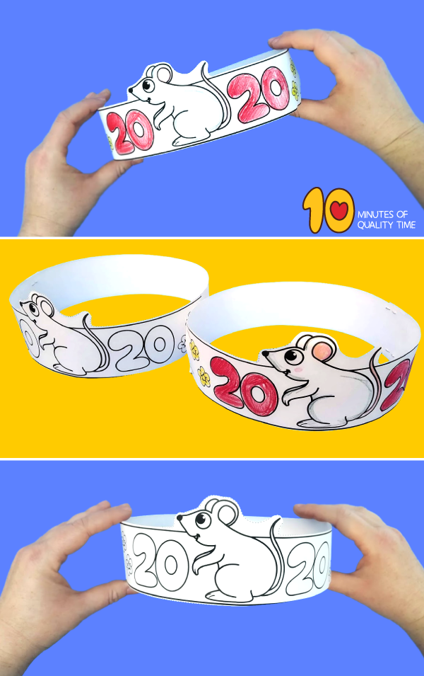 Paper Crown 2020 Year Of The Rat 10 Minutes Of Quality Time